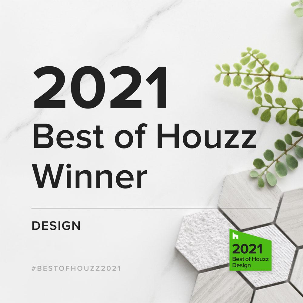 2021 best of Houzz Winner Design