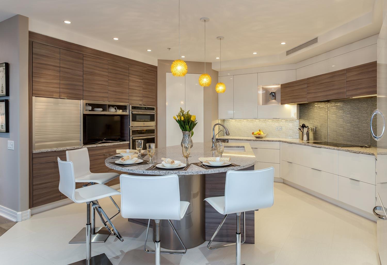 ... Sleek Contemporary Kitchen Renovation Denver Colorado ...