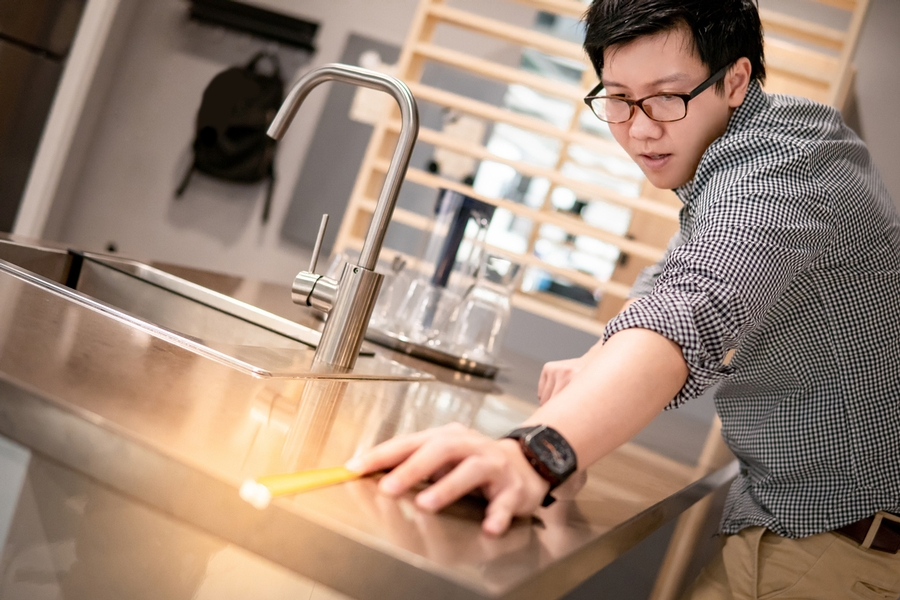 measuring twice to prepare for a kitchen remodel in Denver