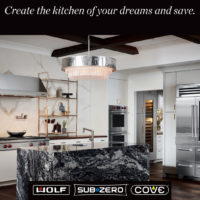 wolf sub zero cove kitchen appliance promotion denver colorado
