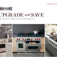 wolf appliance upgrade bonus rebate