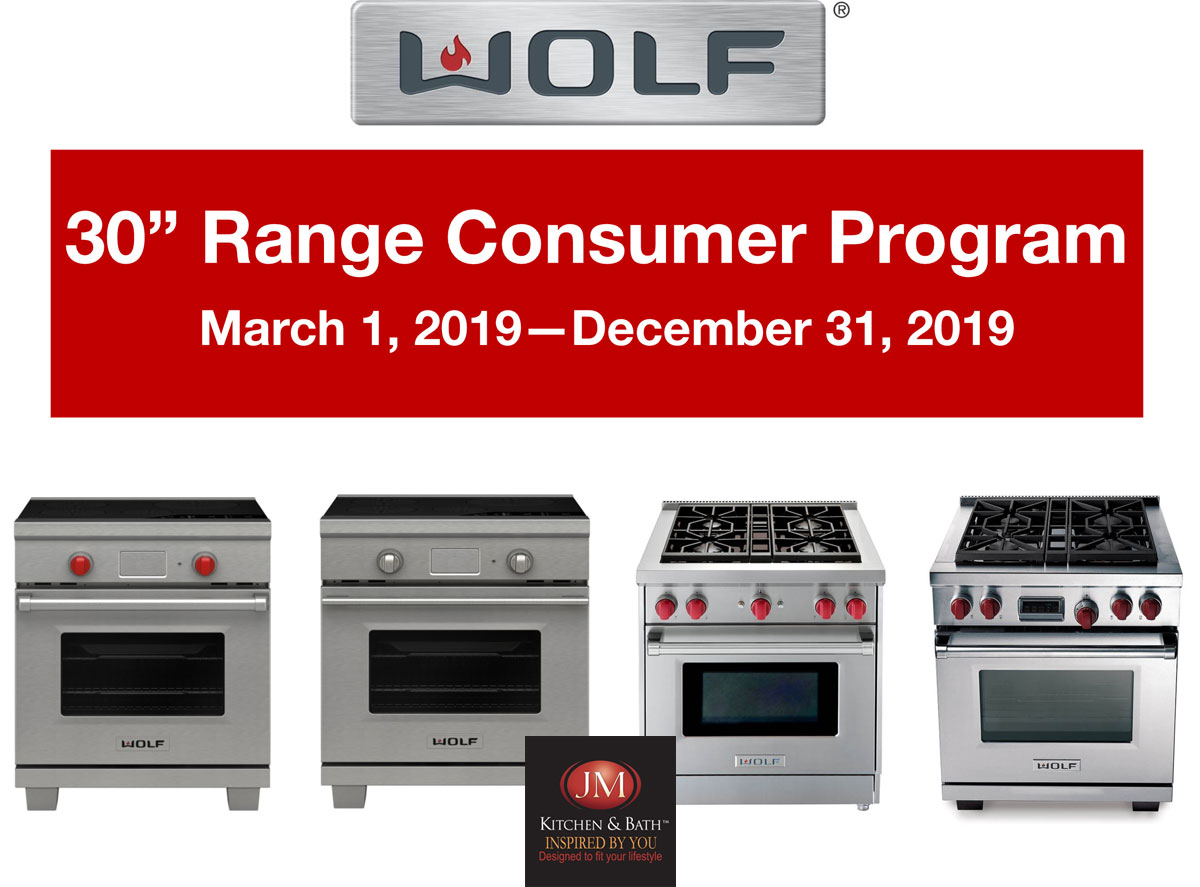 wolf stove promotion