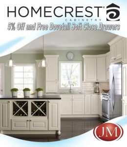 Amazing Discount on Homecrest Cabinets