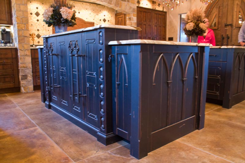 Spectacular Arched Cabinet Doors from Homestead Cabinetry