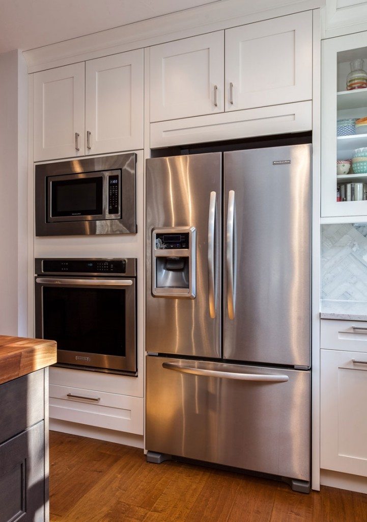 Stainless Steel Appliance Package in Denver Kitchen Remodel