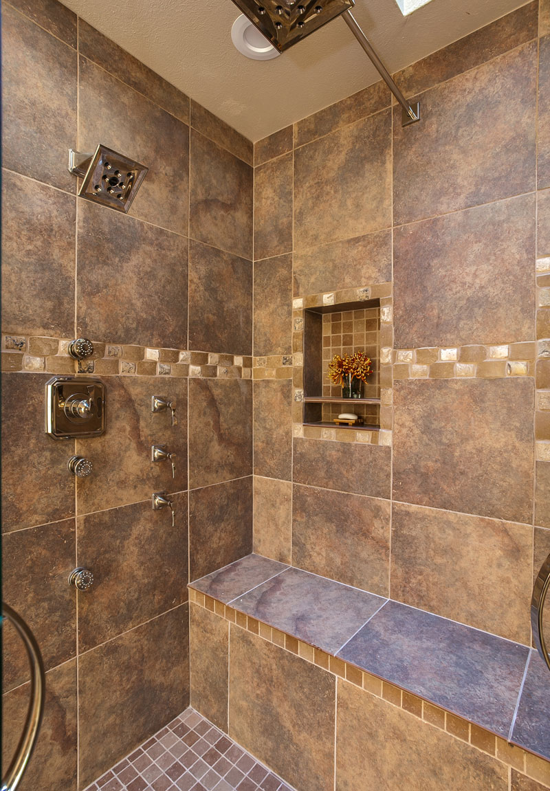 Amazing Master Bath Renovation with huge double shower